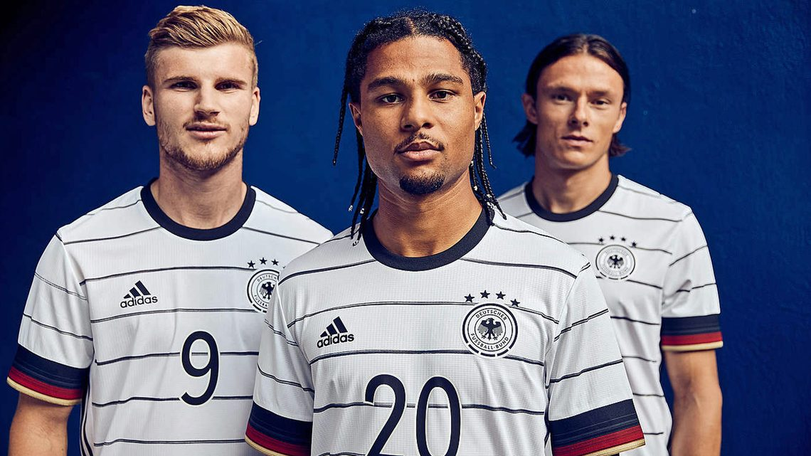 GERMANY HOME KIT 2019 - 21 | UEFA EURO 2020