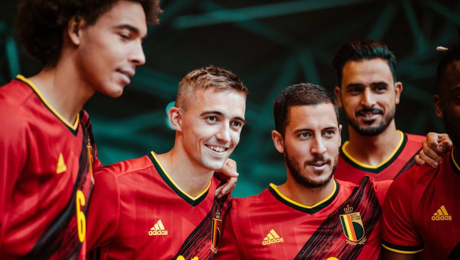 BELGIUM HOME KIT 2020 - 21   UEFA EURO 2020