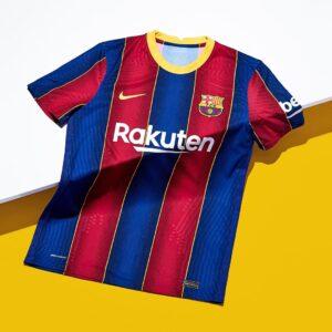 FC BARCELONA HOME KIT 2020/2021