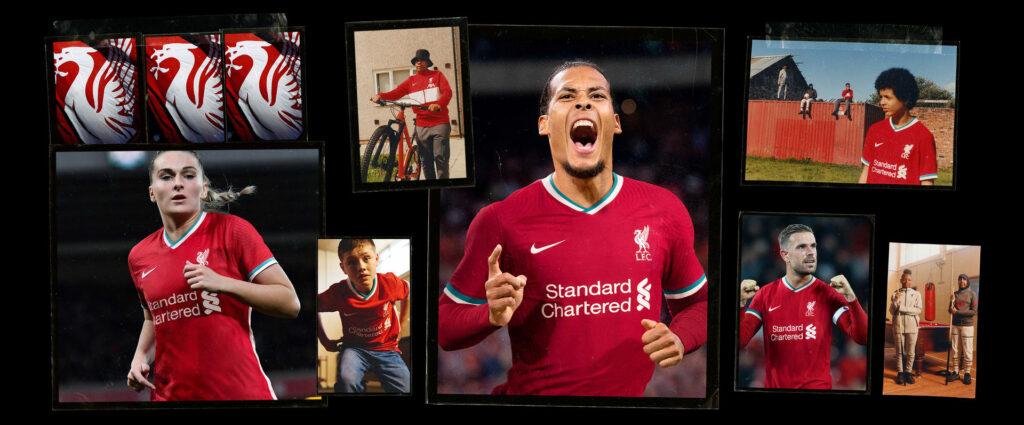 Liverpool FC Home Kit 2020/2021