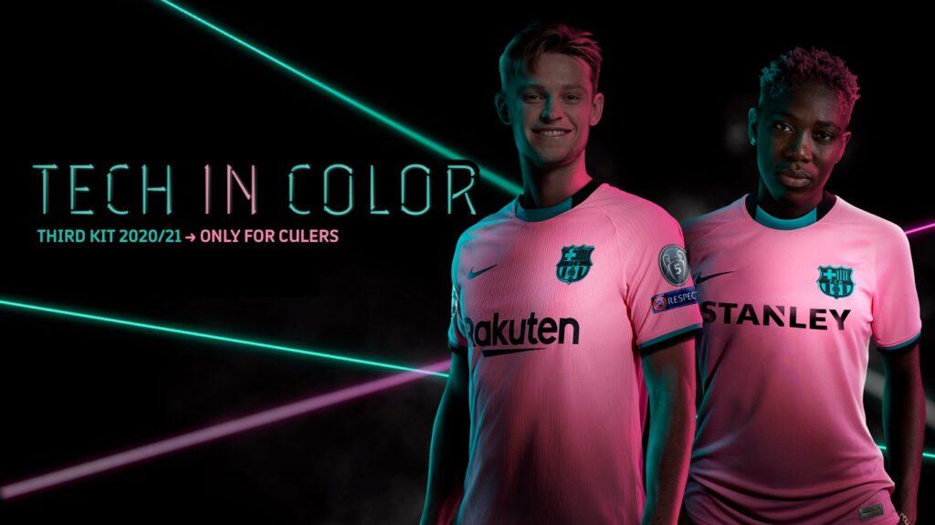 FC BARCELONA THIRD KIT 2020/2021