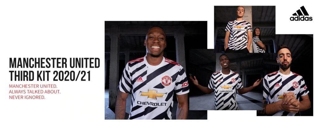 Manchester United Third Kit 2020/2021