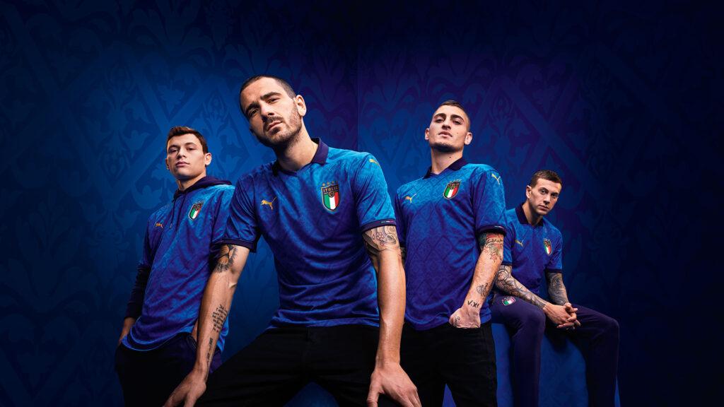 ITALY HOME KIT 2020 - 21 | UEFA EURO 2020