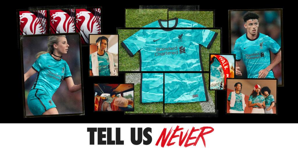 Liverpool FC Away Kit 2020/2021