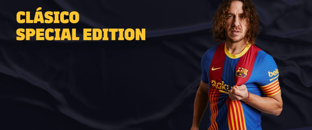 FC Barcelona El Clásico Fourth Kit 20/21