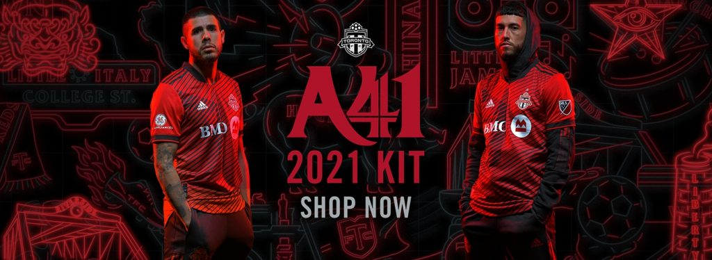 Toronto FC 2021 Home Jersey