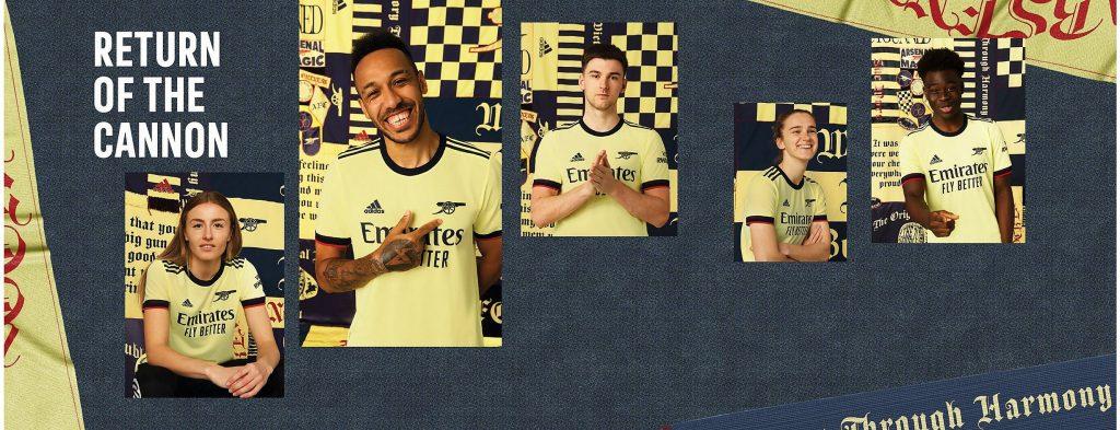 Arsenal FC Away Kit 21/22