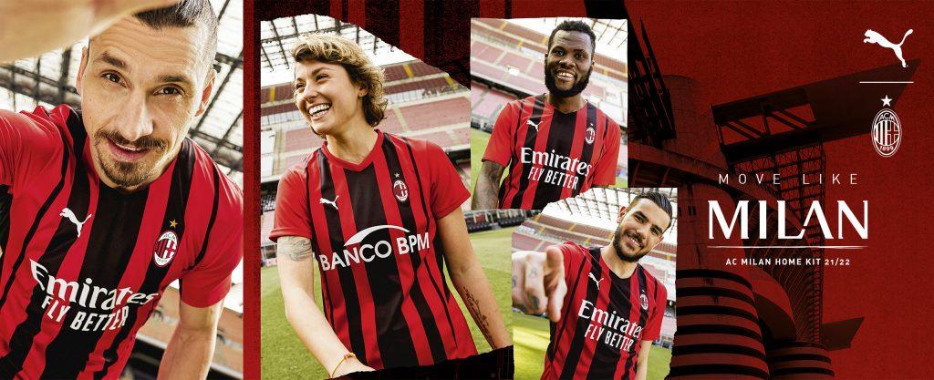 AC Milan Home Kit 21/22