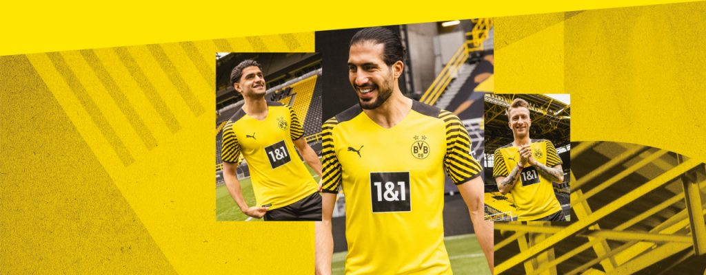 Borussia Dortmund Home Kit 21/22