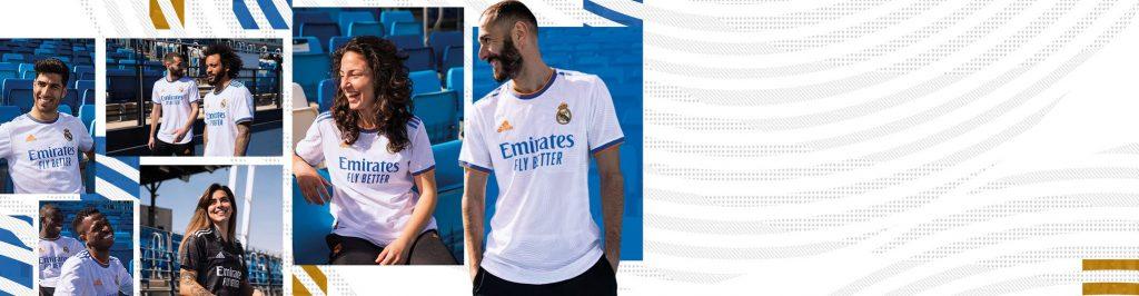 Real Madrid Home Kit 21/22
