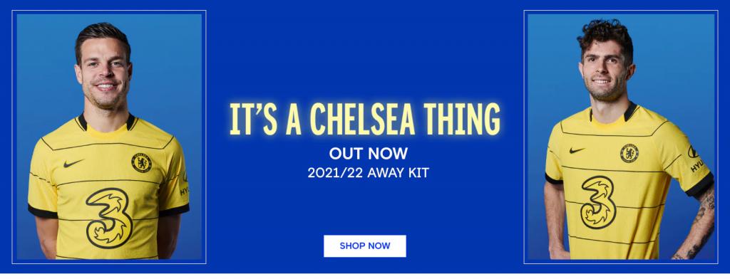Chelsea FC Away Kit 21/22