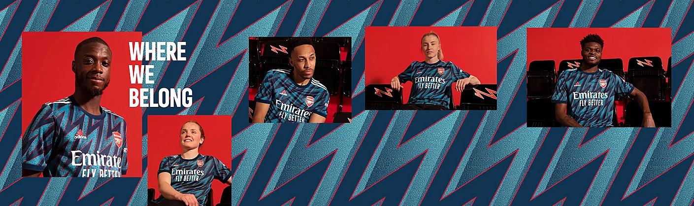Arsenal FC Third Kit 21/22