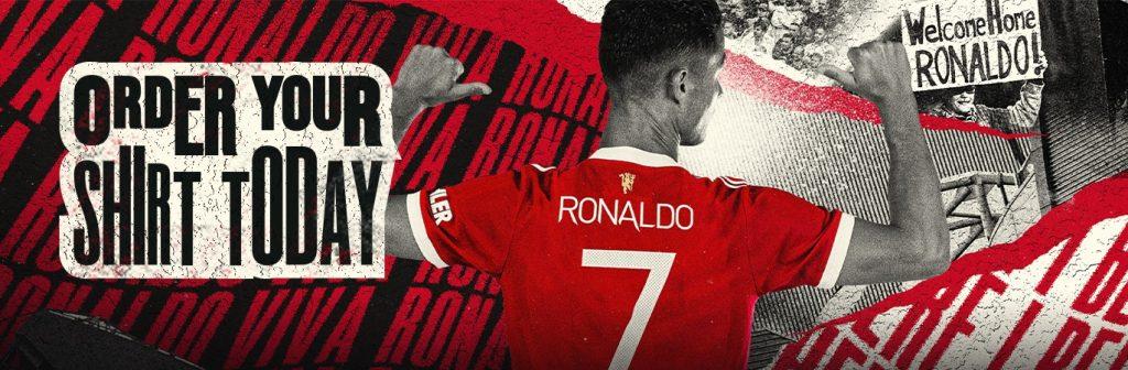 Manchester United Third Kit 21/22 - Cristiano Ronaldo