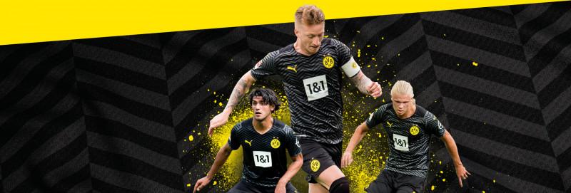 Borussia Dortmund Away Kit 21/22