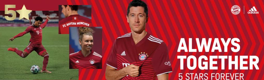 Bayern Munich Home Kit 21/22