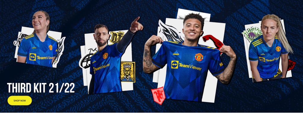 Manchester United Third Kit 21/22