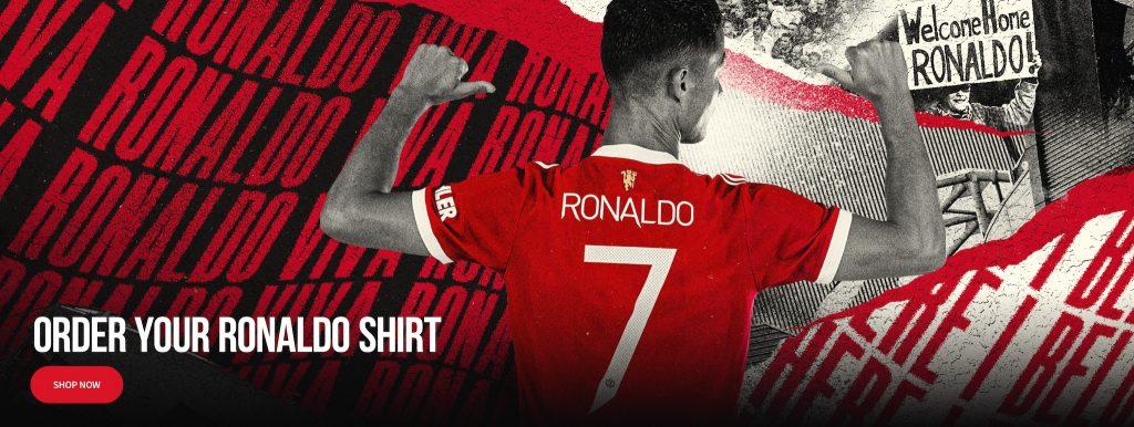 Manchester United Home Kit 21/22 - Cristiano Ronaldo