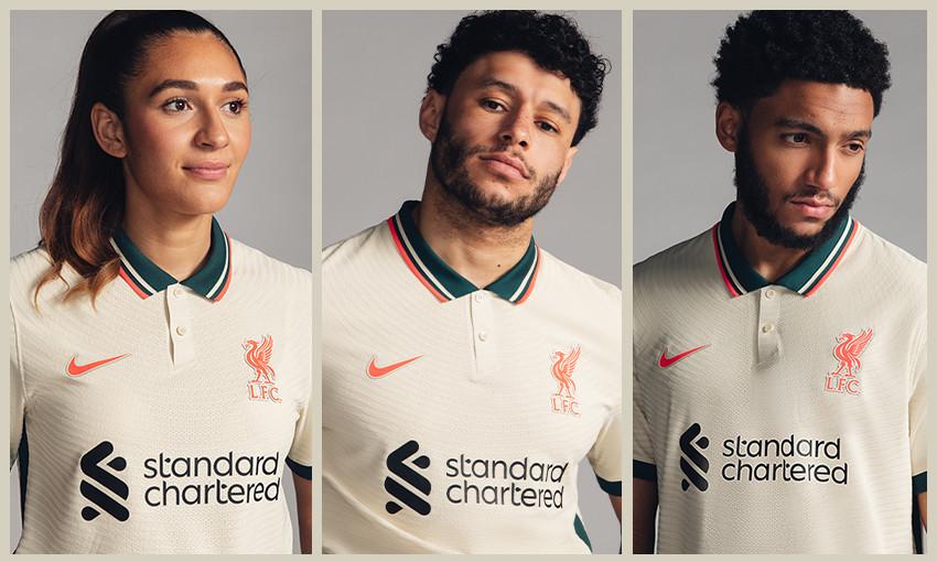 Liverpool FC Away Kit 21/22